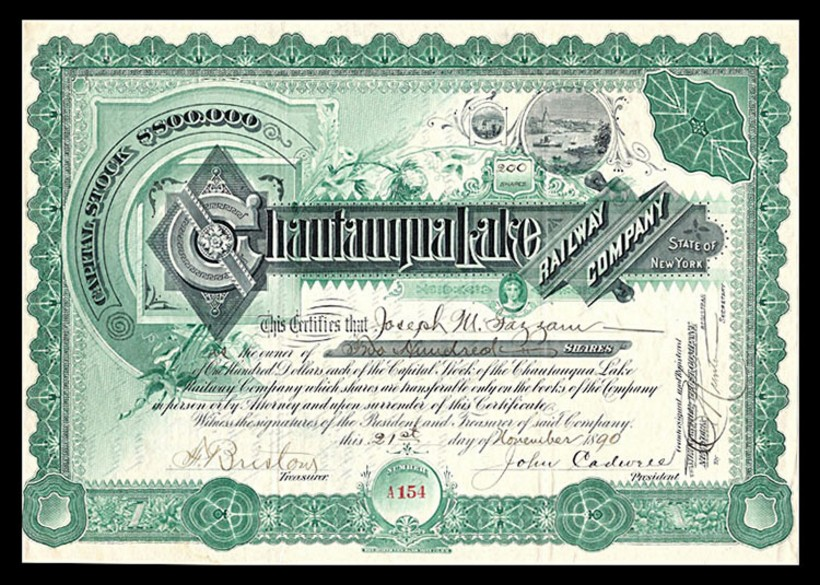 United States old paper stocks /& bonds certificates  used and unused 10 diff