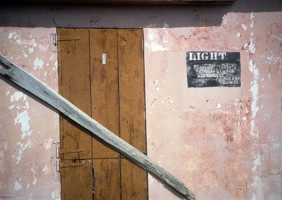 Ghost signs on buildings